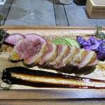 肉×野菜バル WTe - 合鴨ロースのステーキ