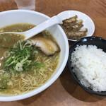 二代目よなきや - ギョーザセット(¥790)