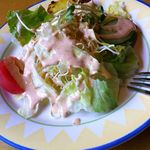 ガナパティババ - セットのサラダ
