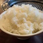 焼肉・冷麺ヤマト 北上店 - ライスは大盛りで