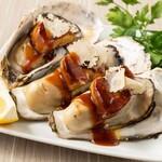 完全個室居酒屋 星夜の宴 - 【三陸産地直送】殻付き牡蠣のロッシーニ