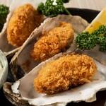 完全個室居酒屋 星夜の宴 - 【三陸産地直送】大粒 牡蠣フライ
