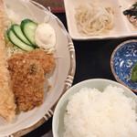 海丸 - ミックスフライ定食