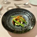 レストランパフューム - オマール海老のソテー ブイヤベースソース