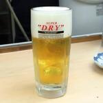 魚介 - スーパードライ生ビール