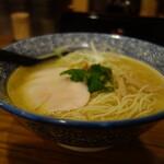 132241745 - 比内地鶏の白湯そば780円