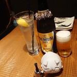 ひで松  - エア乾杯
