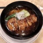 132248350 - 「黒豚パーコー麺」(1518円)
