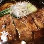 132248432 - 「黒豚パーコー麺」(1518円)