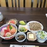福寿し - 料理写真:海鮮丼セット