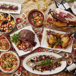 70種類以上の旬の食材を生かした多彩な料理♪