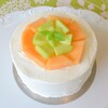 デリス - 料理写真:人気のメロンショートケーキ
