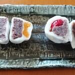 果匠 正庵 - 杏とイチゴ