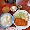 美好 - 料理写真:チキンカツ定食 770円 大盛り+110円