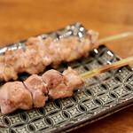 焼鳥 しろう - 首肉、鶏ヒレ