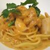 グラティア - 料理写真:たっぷりウニと海老、帆立のトマトクリームスパゲッティ