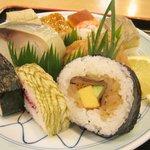 いづ松 - 京寿司¥1300