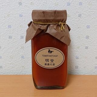 道の駅 星のふる里ふじはし - 料理写真:明宝トマトケチャップ(650円)
