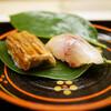 Doujin - 料理写真:鯵と穴子の寿司