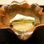 道人 - 胡麻豆腐と鮑