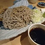 港町のモンキチ - 田舎蕎麦 盛り(750円)