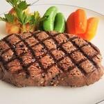 海辺のリゾート 碧い海 - 牛フィレ肉ステーキ(120g)2.300円