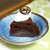 シフクノキ - 料理写真:ガトーショコラ(¥350)。本格的なチョコレートに、ほんわり生クリーム