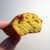 シフクノキ - 料理写真:ピスタチオのフィナンシェ。ほんのり、ラズベリーのアクセント
