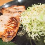 居酒屋 まる - 豚ロースの塩麹焼き