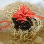 三条望月家 - 高菜と紅生姜
