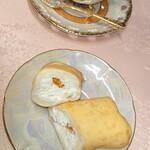 ケーキサロン ハマヤ - オレンジクレープ