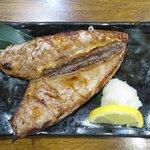 赤たぬき - かつおハランボ焼き 580円