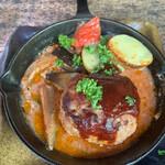 森の中のお肉レストラン アースガーデン - ハンバーグ130g