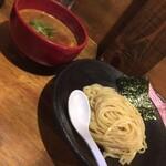 つけ麺 雀 - 辛つけ麺の2辛