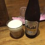 つけ麺 雀 - ビール