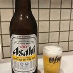 餃子の王将 - 瓶ビール480円