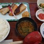 京粕漬 魚久  - あじみせ定食
