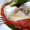 ル・ポワロン - 料理写真:モッツァレラチーズを乗せたイナダのオーブン焼