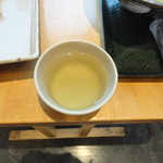はなまるうどん - お茶 セルフ 自動