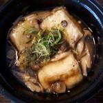 厚田村 - 美味しい揚げ出し豆腐