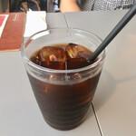 ほりかわ珈琲店 - セットのアイスコーヒー