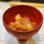 山猫軒 - シュモクザメのフカヒレと見蘭牛の混ぜご飯