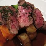 ビストロ・ド・バーブ - 牛ハラミ肉のステーキ