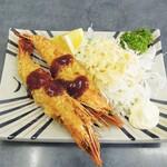 まめだ亭 - 料理写真:海老フライ