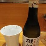 串あげ太郎 - 獺祭45 1000円