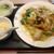 香港居酒屋 華翠苑 - 五目焼きそば、スープ、杏仁豆腐