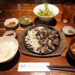 おじゃったもんせ - 都城定食(もも焼) 1000円 ご飯おかわり自由