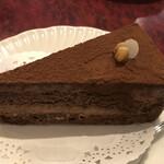 珈琲 豆の樹 - チョコレートケーキ