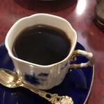 珈琲 豆の樹 - ストレートコーヒーはコロンビアにしました。
