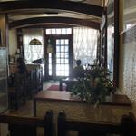 珈琲 豆の樹 - 店内テーブル席